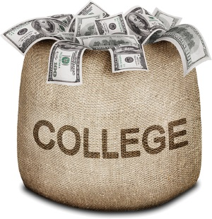Bag of college money