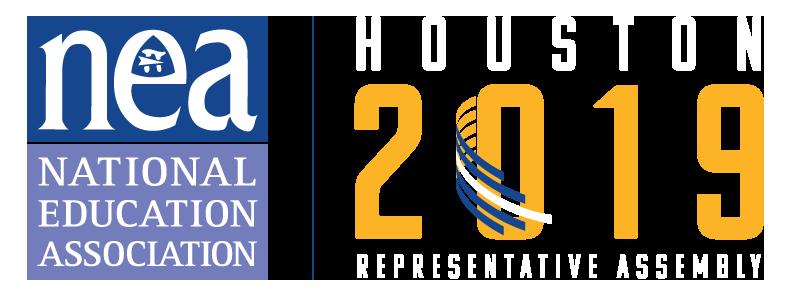 National Education Association 2019 logo