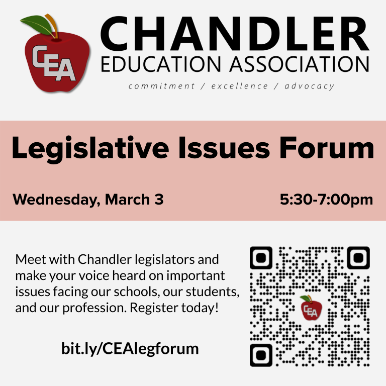 CEA Legislative Issues Forum information