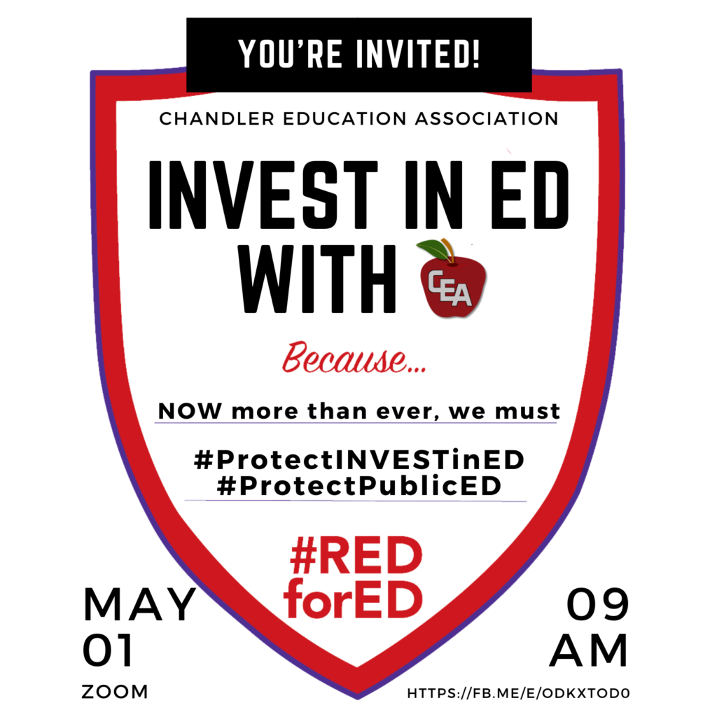 Invest in Ed with CEA on May 1 at 9:00 AM
