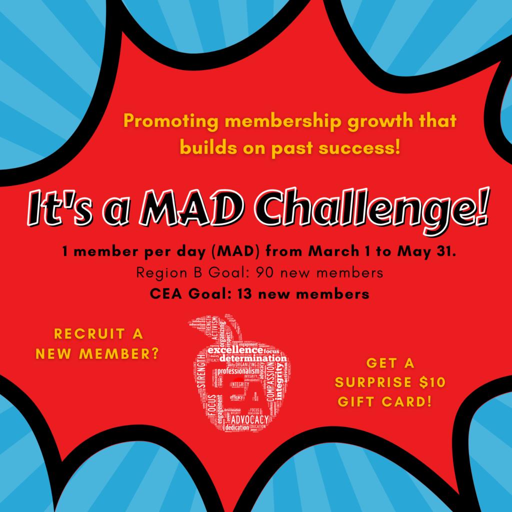 2021 MAD Challenge graphic